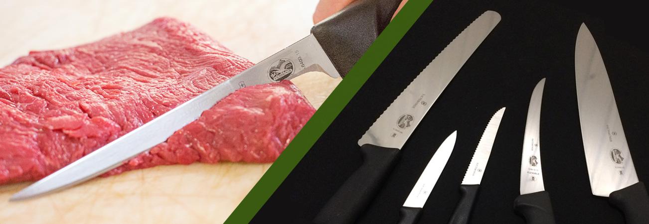 Aiguisage de couteaux pour le secteur alimentaire